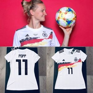 Popp #11 women soccer jersey Germany home